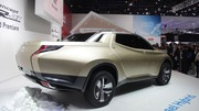 Mitsubishi Concept GR-HEV : hybride diesel
