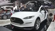 Tesla Model X : Le grand monovolume qui s'envole !