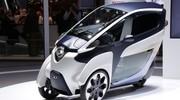 Toyota i Road : Véhicule électrique à trois roues
