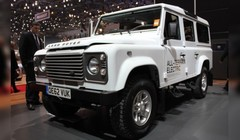 Land Rover Electric Defender Concept : l'armoire électrique