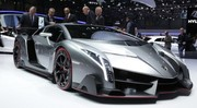 Lamborghini Veneno : La plus exclusive des supercars du salon
