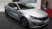 Kia Optima Hybrid restylée : la même