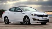 La Kia Optima Hybrid optimisée