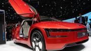 Volkswagen XL1 à Genève : les photos du modèle hybride diesel-électricité