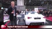 Toyota FT-86 Open Concept en vidéo