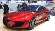 Alfa Romeo Gloria concept, Giulia es-tu là ?