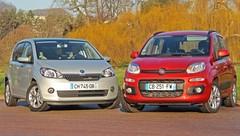 Essai Fiat Panda 0.9 Twinair turbo 85 ch vs Skoda Citigo 1.0 MPI 75 ch : La belle et la rationnelle