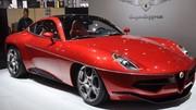 Touring Superleggera Disco Volante : rétro-futuriste