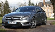 Essai Mercedes CLS Shooting Brake 63 AMG : breakfast
