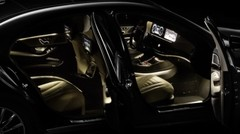 A bord de la future Mercedes Classe S