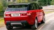 Range Rover Sport : photos en fuite