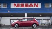 Nissan démarre la production de la Leaf à Sunderland