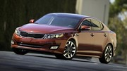 Kia retouche son Optima