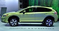 Subaru présente sa toute première hybride à New York