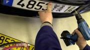Fausses plaques d'immatriculation : hausse vertigineuse de 73 % en 2012
