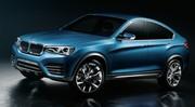 BMW X4 Concept : les premières photos officielles en fuite !