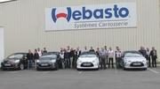 Visite chez Webasto, le fabricant du toit-toile de la Citroën DS3 Cabrio