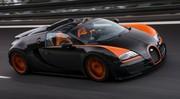 Bugatti Veyron GS Vitesse : 408,84 km/h, record à ciel ouvert