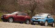 Essai Renault Captur et Nissan Juke : les frères ennemis s'affrontent