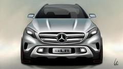 Mercedes GLA Concept : première image