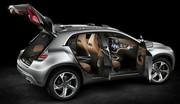 Le Mercedes GLA s'annonce via un concept
