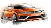 Un Volkswagen CrossBlue Coupé Concept attendu