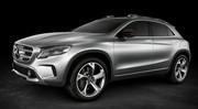 Mercedes GLA Concept officiel et en vidéo