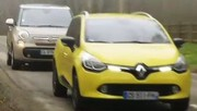Emission Automoto : Top Marques, Pininfarina, Essai Clio Estate vs 500L