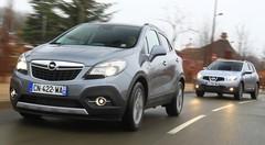 Essai Opel Mokka 1.7 CDTI 130 ch 4x2 vs Nissan Qashqai 1.5 dCi 110 4x2 : Plus rustiques que ludiques