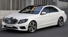 Mercedes Classe S (2013) : nouvelles photos sans camouflage !