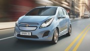 Chevrolet révèle l'autonomie et la consommation de la Spark EV