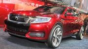 Concept Citroën DS Wild Rubis hybride rechargeable