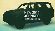 Toyota 4Runner (2014) : nouveau teaser