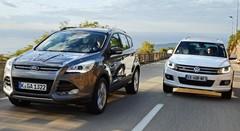 Essai Ford Kuga 2.0 TDCi 163 AWD vs Volkswagen Tiguan 2.0 TDI 140 4Motion : Cent fois sur le métier