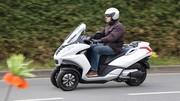 Essai scooter Peugeot Metropolis 400