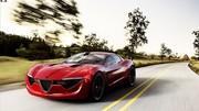 Est-ce là une future Alfa Romeo 6C coupé ?