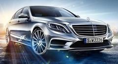 Mercedes Classe S 2013 : Servie sur un plateau