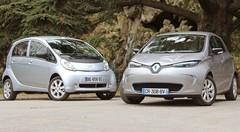 Essai Peugeot iOn vs Renault Zoé : Ambiance électrique