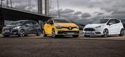 Essai Peugeot 208 GTI, Renault Clio RS, Ford Fiesta ST : turbulente nouvelle vague