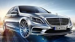 Première image officielle de la nouvelle Mercedes Classe S