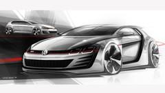 VW Golf Design Vision GTI Concept avec 503 ch