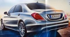 Teaser Mercedes Classe S : A quoi bon ?