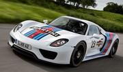 Porsche 918 Spyder 2013 : la puissance grimpe à 887 ch !