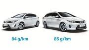 Toyota Auris Hybride : le taux de CO2 ramené à 84 g/km