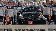 """Des Toyota Yaris """"made in France"""" exportées en Amérique du Nord"""