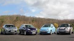 Essai Opel Adam, Citroën DS3, Mini, Fiat 500 : les reines de la personnalisation