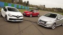 Essai : Joute sur circuit entre les Renault Clio R.S, Peugeot 208 GTI et Seat Ibiza Cupra