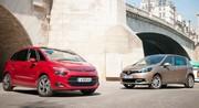 Citroën C4 Picasso contre Renault Scénic : Regard de tueur
