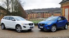 Essai Mazda CX-5 SkyActiv-D 175 ch vs. Volvo XC60 D4 163 ch : SUV exotiques
