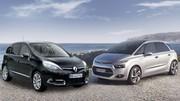 Citroën C4 Picasso contre Renaut Scénic : duel de valeurs sûres